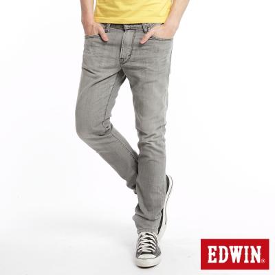 EDWIN-503EDGE伸縮窄直筒牛仔褲-男款-淺灰
