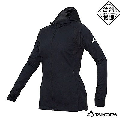 TAKODA 透氣超彈力網球裙連帽機能外套