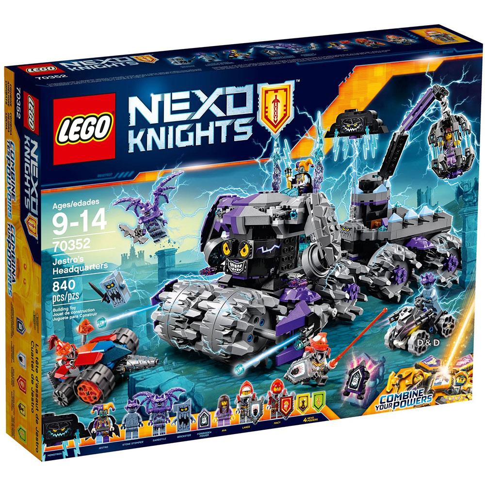 樂高LEGO未來騎士系列 - LT70352 小丑的終極毀滅總部