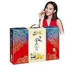 白蘭氏 頂級官燕窩-清新甘醇禮盒-附提把(70g/瓶 x 6瓶)+養蔘飲2瓶