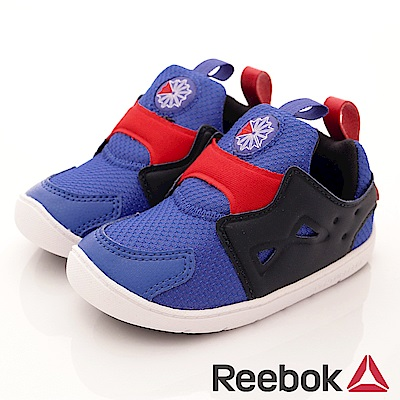 Reebok 頂級童鞋 休閒學步機能款 MNI144寶藍(寶寶段)