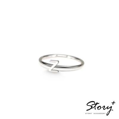 STORY ACCESSORY-字母系列-字母Z 純銀戒指