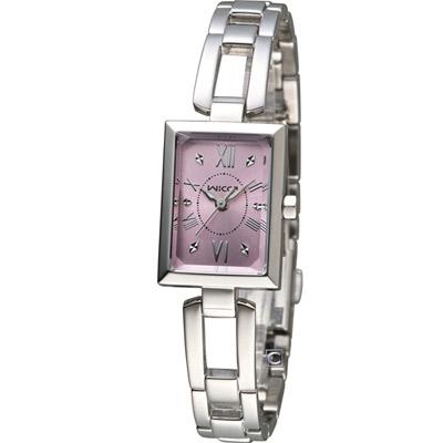 CITIZEN 星辰 WICCA 玩美蜜糖魅力腕錶(BE1-011-91)-粉色/18mm