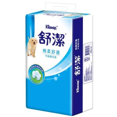 舒潔 棉柔舒適平版衛生紙268張6包*5串/箱