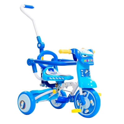 【日本暢銷 三輪車】 StepDragon Q9 12吋 無毒多功能摺疊三輪車