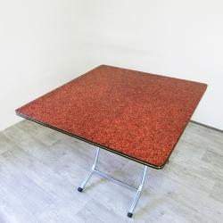 Amos-塑膠摺疊桌-W90*D90*H72.5CM