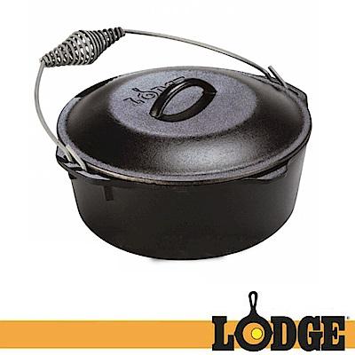 【Lodge】LOGIC DUTCH 5QT 10.25吋 防燙提把鑄鐵/免開鍋