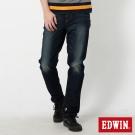 EDWIN AB褲 503迦績保溫牛仔褲-男-石洗綠
