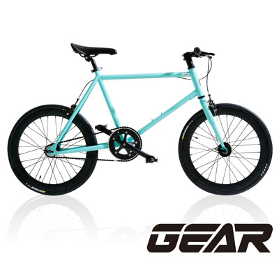GEAR 街頭潮流Mini Fixed Gear20吋迷你單速車_MF1