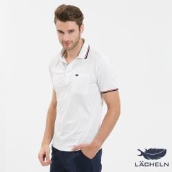 【LACHELN】Coolmax 快乾抗UVPOLO衫-白(L72M909)
