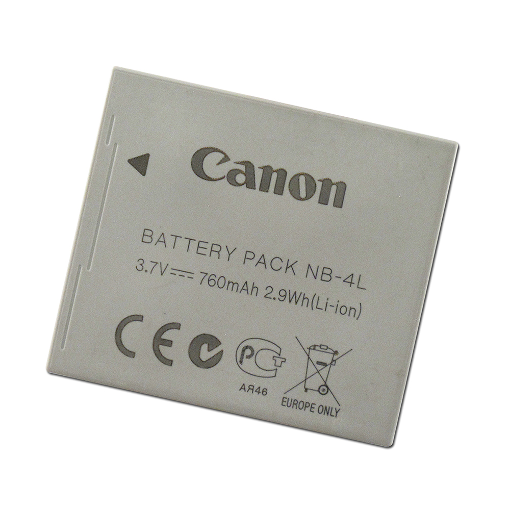 Canon NB-4L 相機用原廠電池 (日本製-無吊卡)
