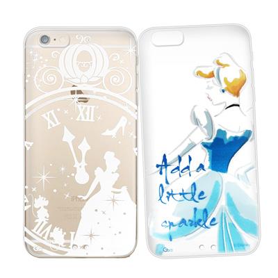 迪士尼授權正版 iphone 6 /6s  金蒔繪雙料手機殼 手機殼(灰姑娘)
