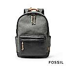 FOSSIL DEFENDER  帆布後背包-灰色