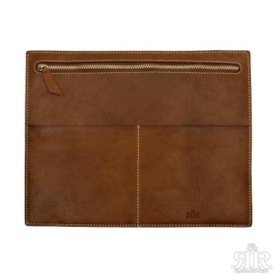 2R-頭層植鞣牛皮Craftsman手工拉鍊文件袋
