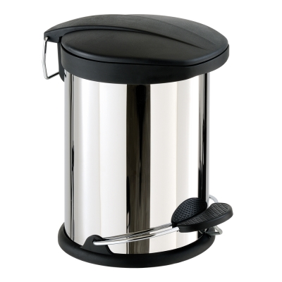 ikloo宜酷屋 不鏽鋼腳踏垃圾桶-12L(台灣製造)