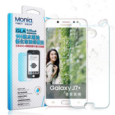 MONIA Samsung Galaxy J7+ C710 日本頂級疏水疏油9H...