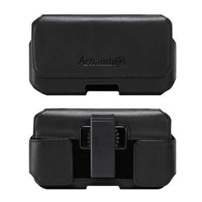 第二代Achamber 真皮旋轉腰夾腰掛 橫式皮套 ZenFone 3 Delu...