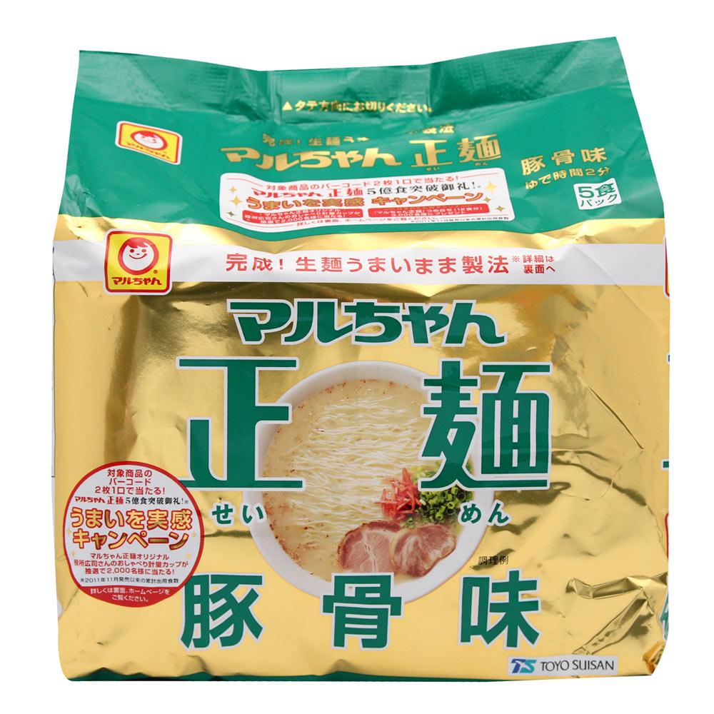 東洋水產 正麵豚骨包麵 (91gx5包)