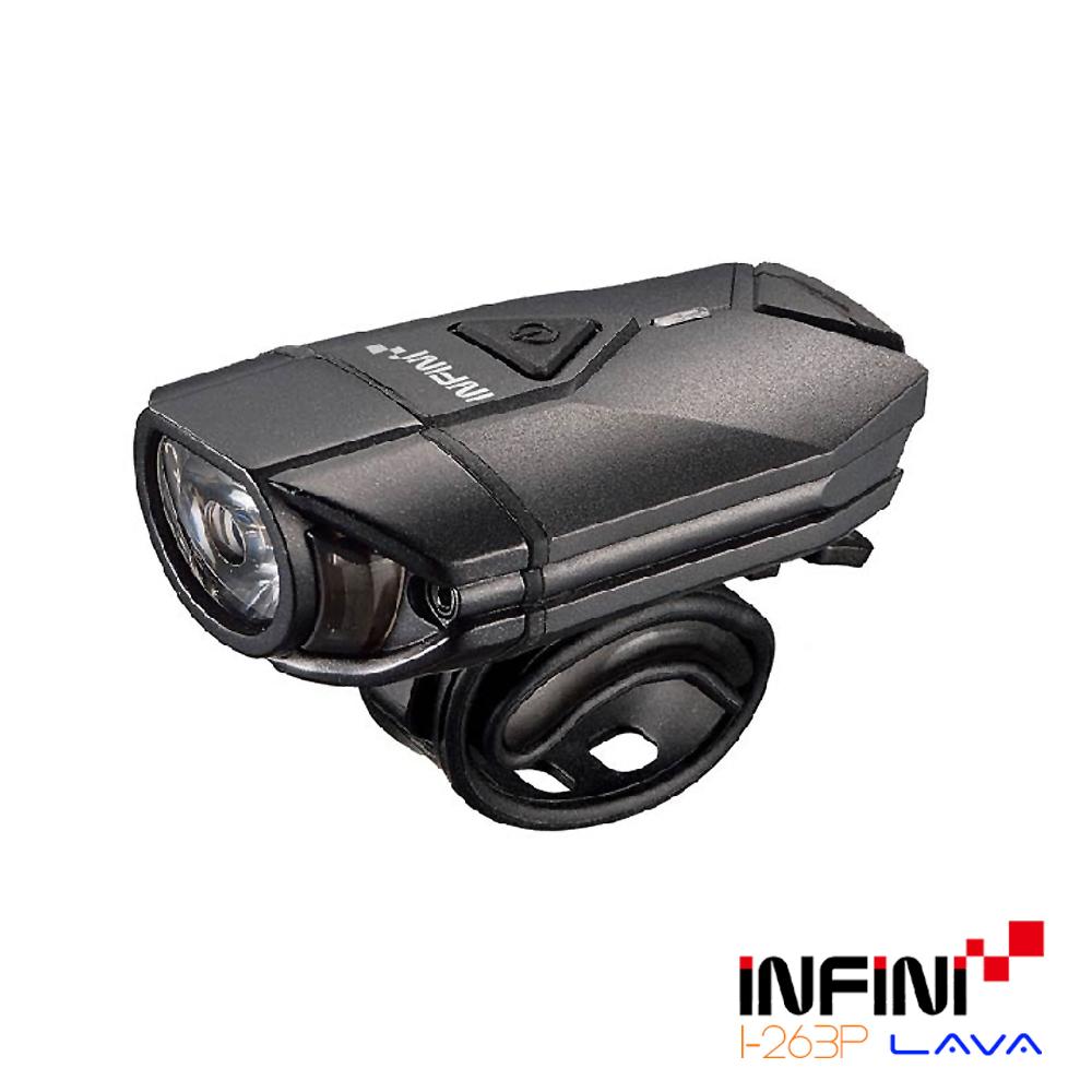 INFINI LAVA I-263P 3瓦高效能專業自行車前燈 黑