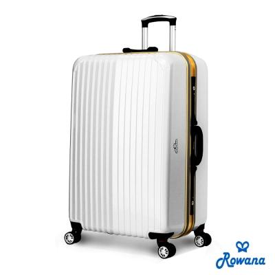 Rowana-金燦炫光PC鏡面鋁框行李箱-29吋