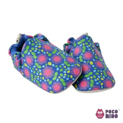 英國 POCONIDO 純手工柔軟嬰兒鞋 (古典小花)