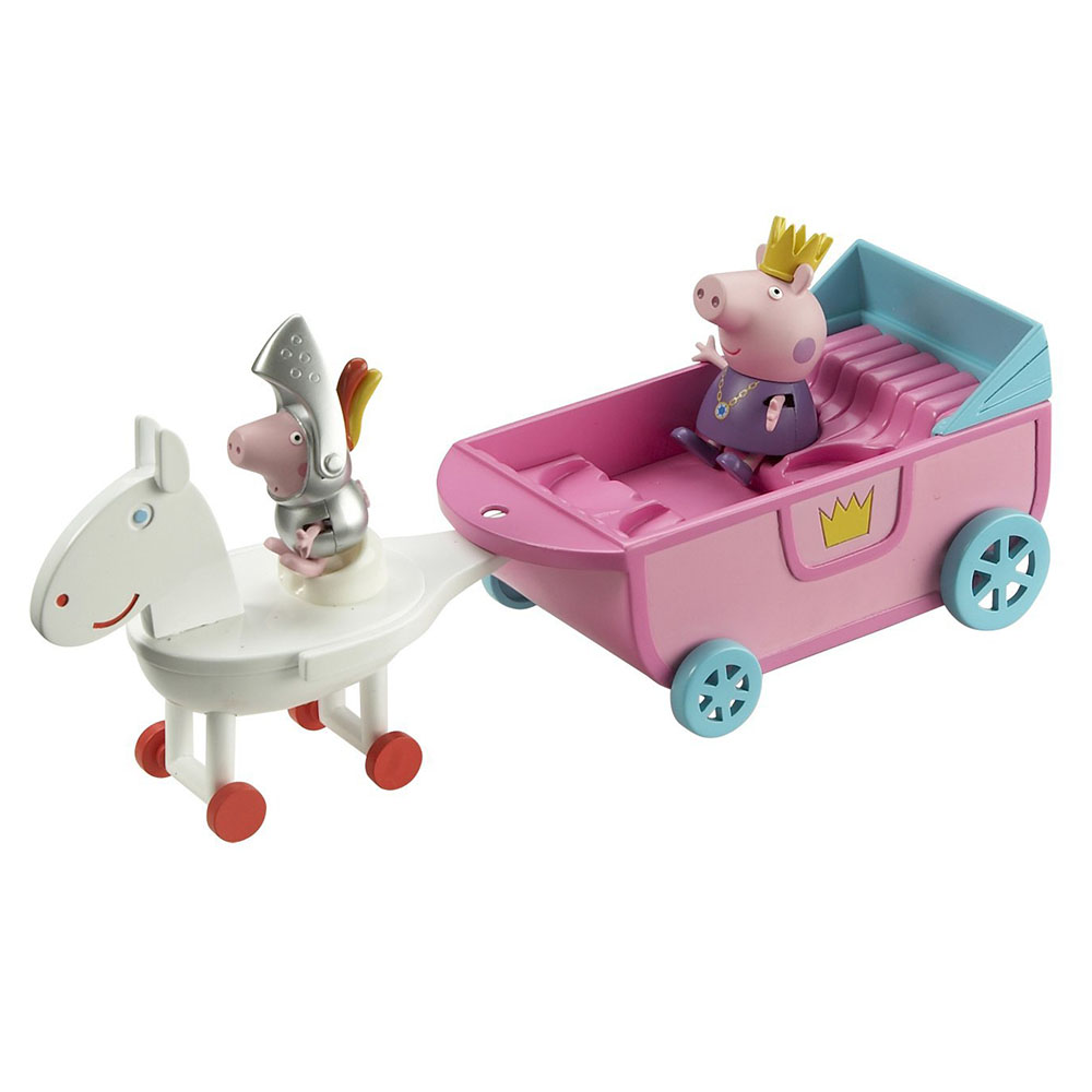 Peppa Pig 粉紅豬小妹 皇家系列 可愛馬車組 05868