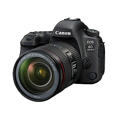 Canon EOS 6D Mark II 24-105mm f/4L II單鏡組(公司貨)