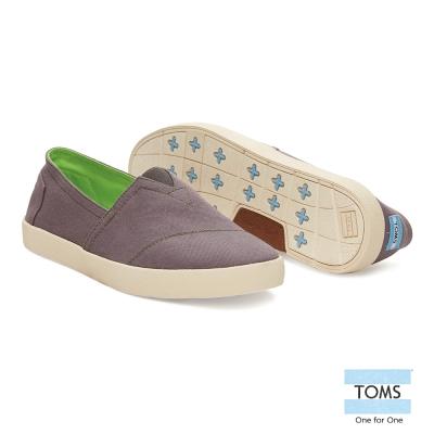 TOMS-極簡生活懶人鞋-男款-灰
