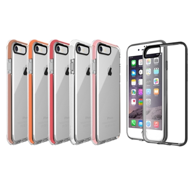 水漾 iPhone7 (4.7吋)神盾彩色超防摔氣墊手機殼(送玻璃保護貼)