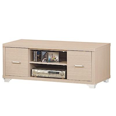 品家居 蘇珊3.9尺長櫃/電視櫃(二色可選)-118x52.5x46.5cm免組