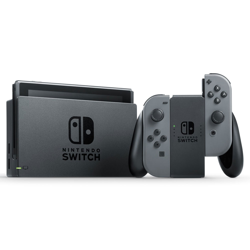 Nintendo  Switch 任天堂 Nintendo Switch 灰色Joy-Con 台灣公司機