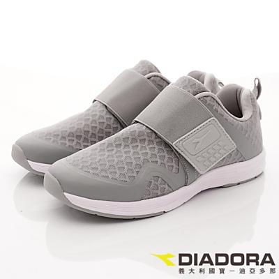 DIADORA-乳膠動能潮流款-CFI368灰(女段)