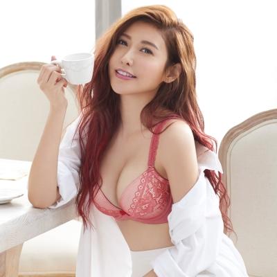 瑪登瑪朵 輕盈軟棉圈內衣  A-C罩杯(雅緻紅)