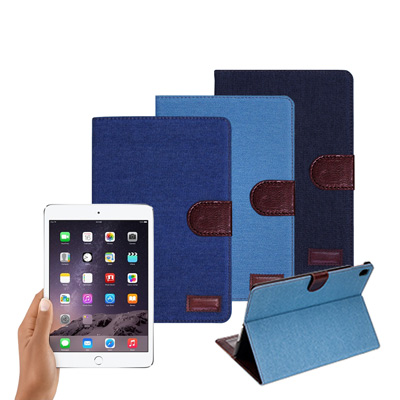 VXTRA Apple iPad Pro 9.7吋 率性牛仔 超薄支架保護套