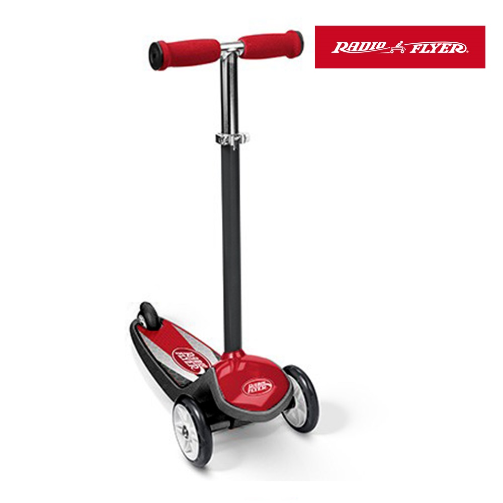 【RadioFlyer】小酋長三輪滑板車(紅)#502A型