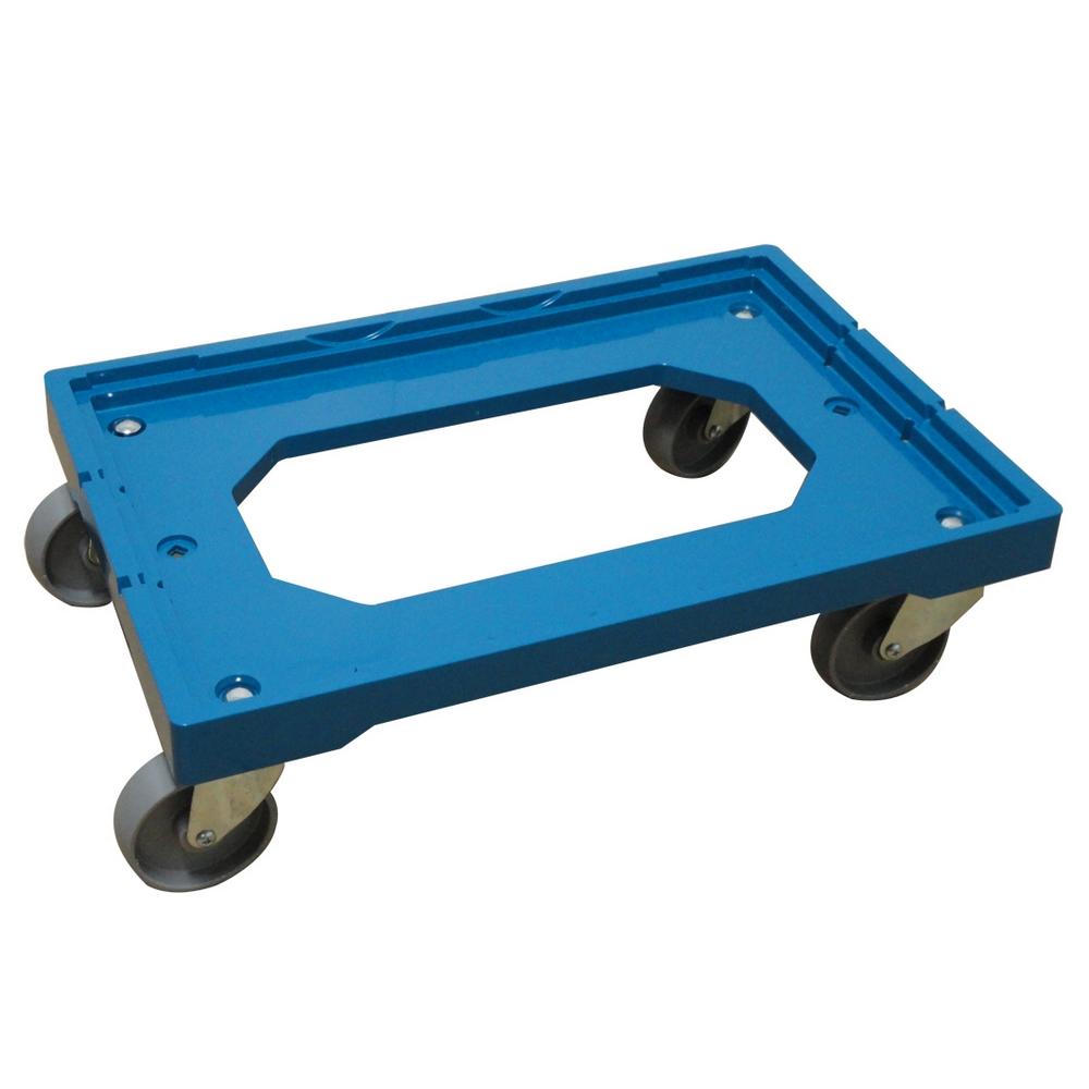 【COLOR】專業重型塑鋼平板車(250kgs)