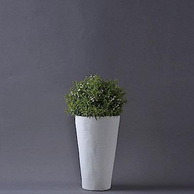 Serax 比利時 北歐杯形花器 23cm 橫紋