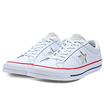 CONVERSE-男女休閒鞋160624C-白