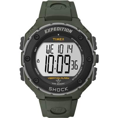 TIMEX EXPEDITION 超越巔峰登山探險錶-軍綠/50mm