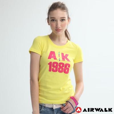 AIRWALK-女-印花T恤