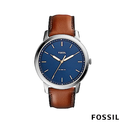 FOSSIL THE MINIMALIST 極薄款男錶