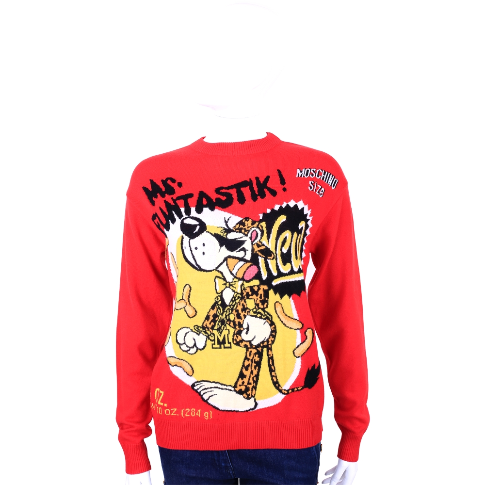 MOSCHINO Mr Funtastik 卡通系列針織羊毛衣