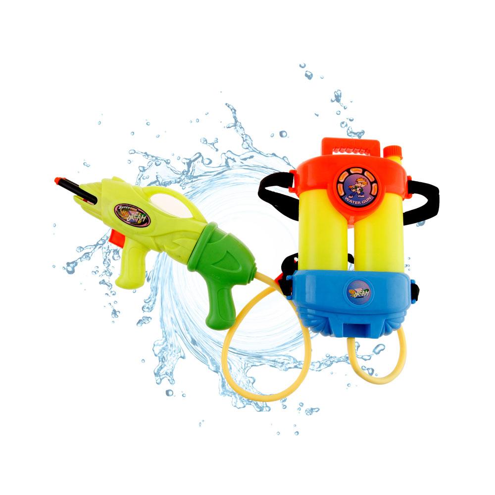兒童夏日戲水玩具背包水槍5100P