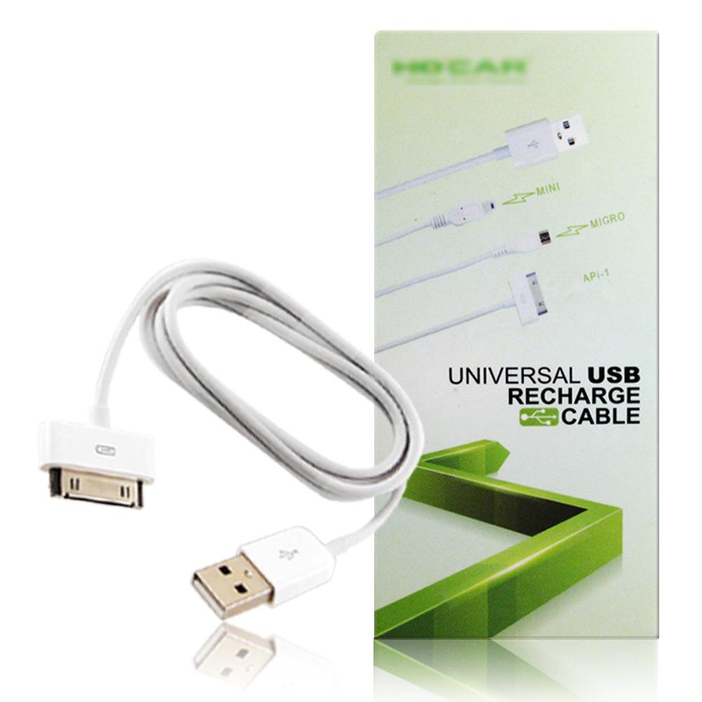 iPhone/iPad/iPod 專用USB 傳輸充電線(兩入)