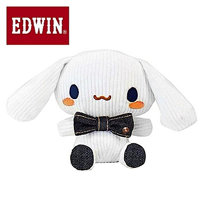 Sanrio 大耳狗喜拿*EDWIN聯名 燈芯絨玩偶