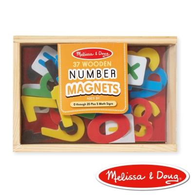 美國瑪莉莎 Melissa & Doug 數學木質磁鐵貼