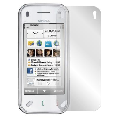ZIYA Nokia N97 抗刮亮面螢幕保護貼2入