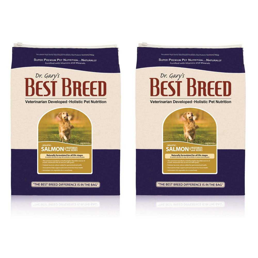 BEST BREED貝斯比 全齡犬 鮭魚+蔬果與香草配方 6.8kg X 2包入