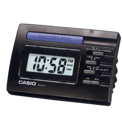 【CASIO 】數字小型電子鬧鐘(黑)