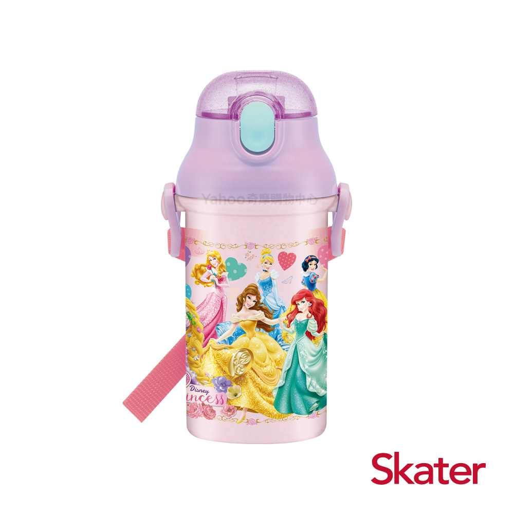Skater吸管冷水壺(400ml)迪士尼公主Lady